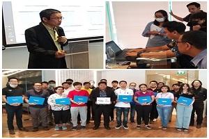 Career For The Future Academy จัดฝึกอบรมหลักสูตรการบริหารจัดการและการรับมือกับภัยคุกคามทางไซเบอร์ (Cyber Security Incident Management: CSM)