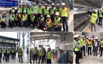 Career For The Future Academy จัดฝึกอบรมหลักสูตรวิศวกรรมระบบราง (Railway Engineering Course: REC)