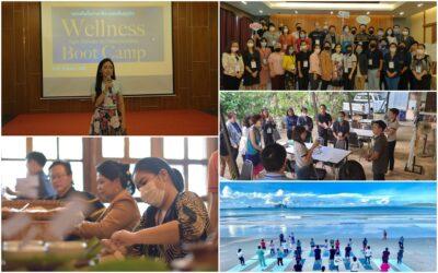 Career For The Future Academy จัดฝึกอบรมหลักสูตร Wellness Boot Camp @krabi