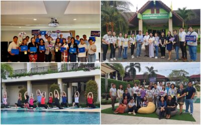 Career For The Future Academy จัดฝึกอบรมหลักสูตร Wellness Boot Camp @Chanthaburi
