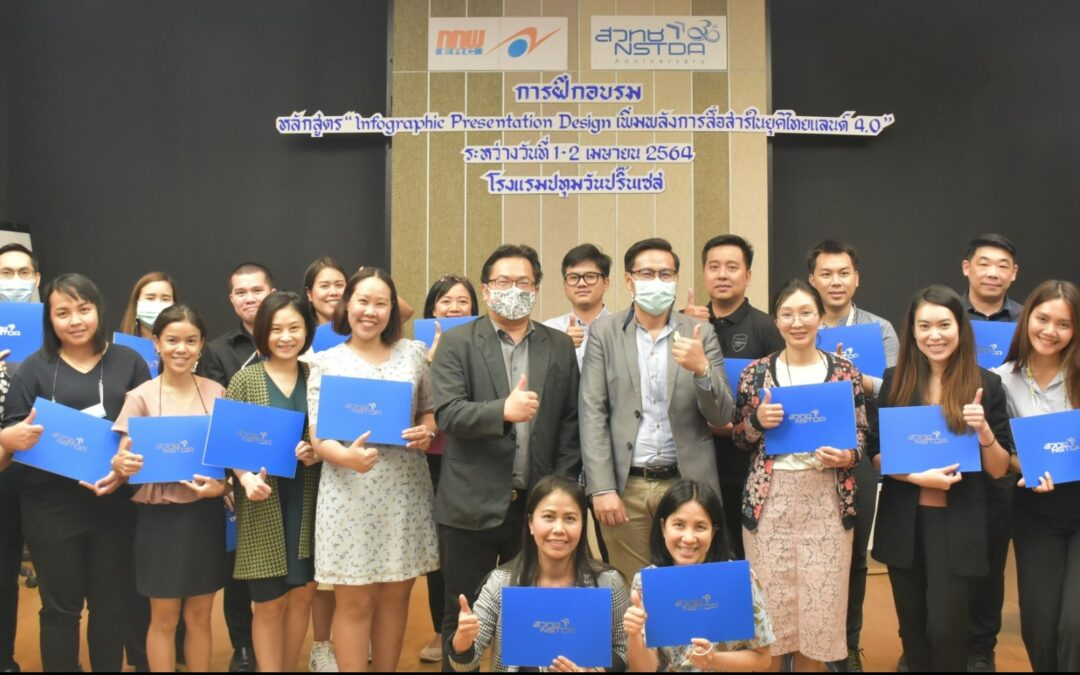 "Career for the Future Academy จัดฝึกอบรมหลักสูตร ""Infographic Presentation Design เพิ่มพลังการสื่อสารในยุคไทยแลนด์ 4.0 (In-house)"""